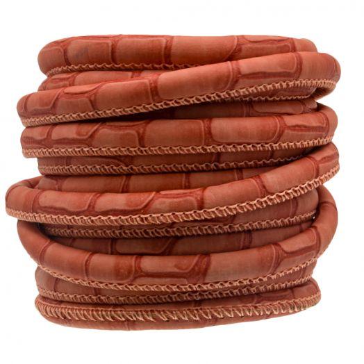 Stitched Imitation Leather (6 mm) Terra Safari (2.5 Meter)