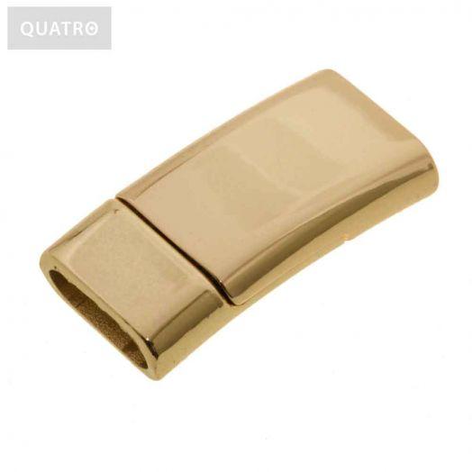 Magnetic Clasps (hole size 10 x 3 mm) Gold (1 pcs)