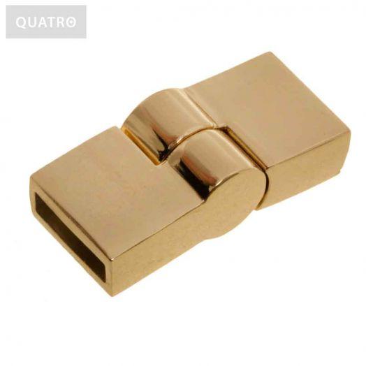 Magnetic Clasps (hole size 10 x 2 mm) Gold (1 pcs)