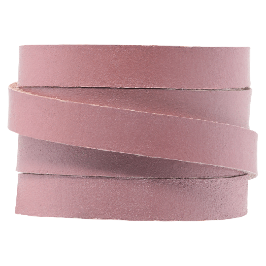 DQ Flat Leather (10 x 2 mm) Pink (1 Meter)