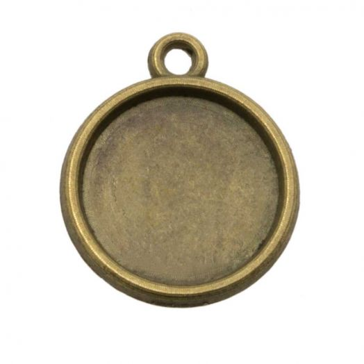 Connectors 1 eye (12 mm) Bronze (10 pcs)