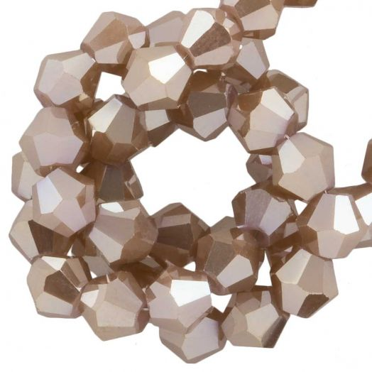 Faceted Beads Bicone (4 mm) Peanut (110  pcs)