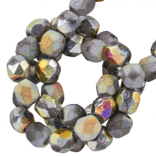 DQ Fire Polished Beads (4 mm) Marea (50 pcs)