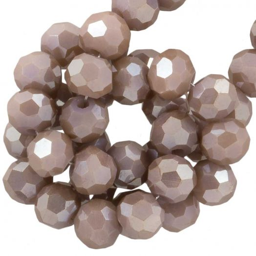 Faceted Beads Round (4 mm) Peanut (98 pcs)