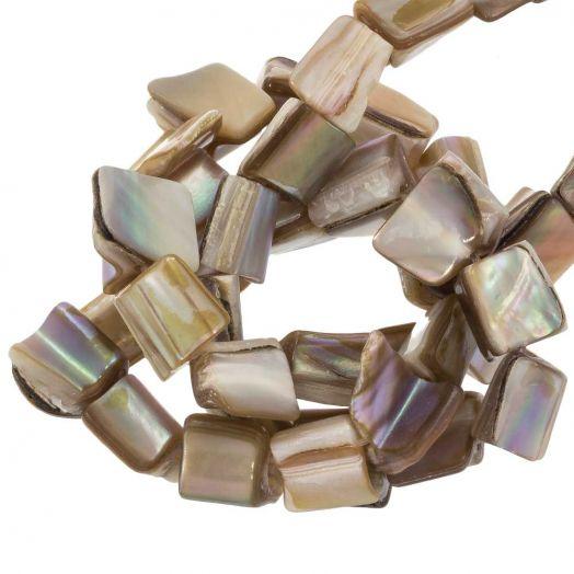 Shell Beads (10 x 8 mm) 48 pcs