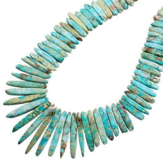 Regalite Tusk Beads (15 - 45 x 4.5 - 6 x 5 - 5.5 mm) 85 pcs