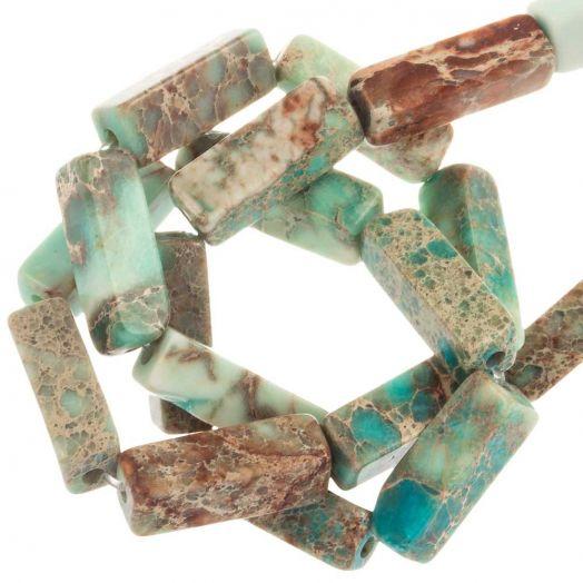 Regalite Beads (13.5 - 14 x 4 - 4.5 x 4 - 4.5 mm) 28 pcs
