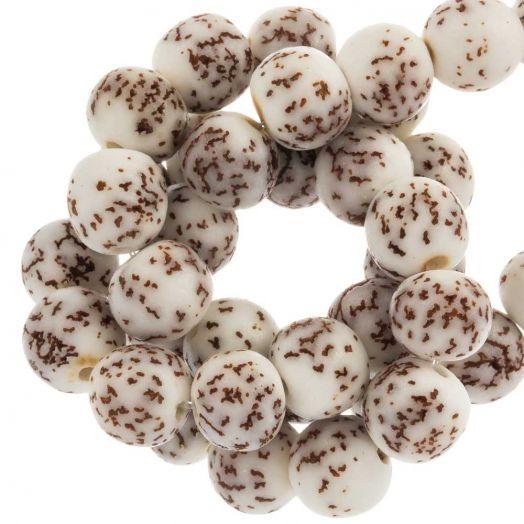 Wooden Beads (8 mm) Salwag (43 pcs)