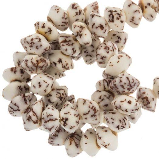 Wooden Beads (8 x 5 mm) Salwag (80 pcs)