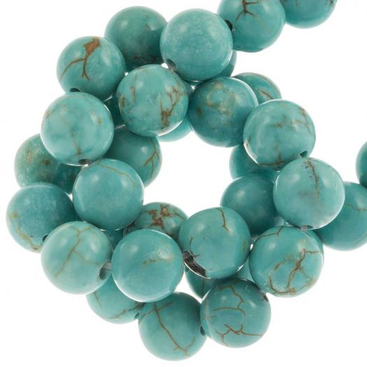 Sinkiang Turquoise Beads (8 mm) 49 pcs