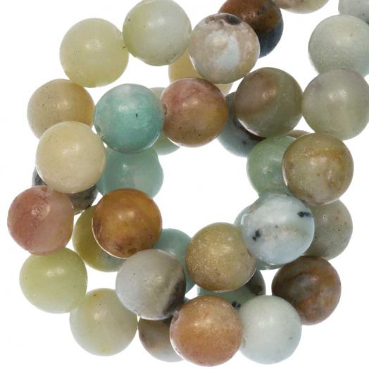 Amazonite Beads (10 mm) 36 pcs