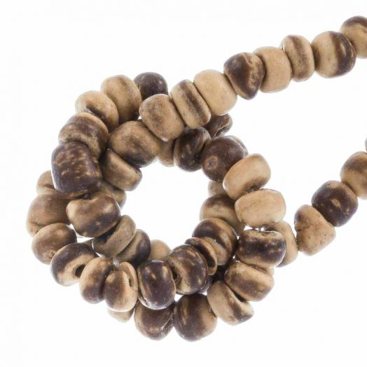 Coconut Beads (2- 3 mm) Tiger (110 pcs)