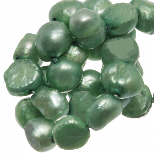 Freshwater Pearls (7-8 mm) Light Green (50 pcs)