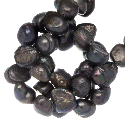 Freshwater Pearls (7-8 mm) Grey (50 pcs)