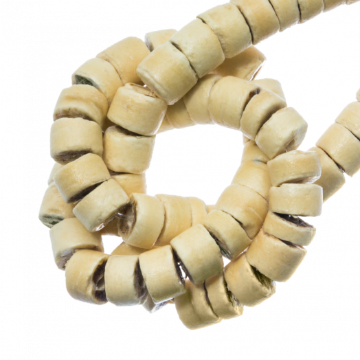 Coconut Beads (4 - 5 mm) Sand (120 pcs)