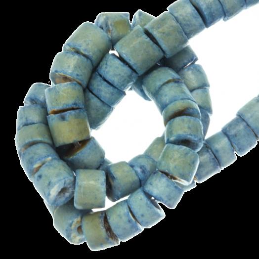 Coconut Beads (4 - 5 mm) Oasis Blue (120 pcs)