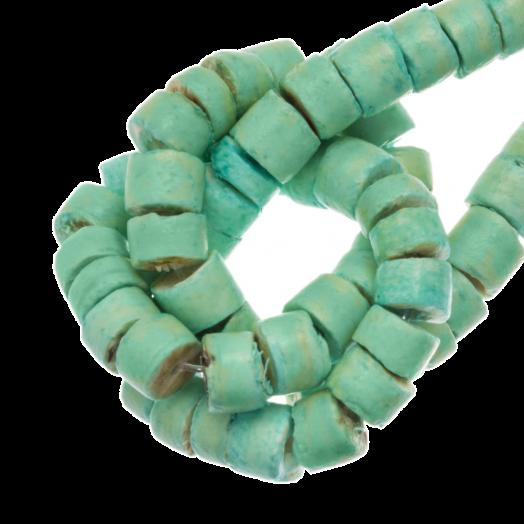 Coconut Beads  (4 - 5 mm) Mint (120 pcs)