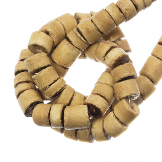 Coconut Beads (4 - 5 mm) Natural (120 pcs)