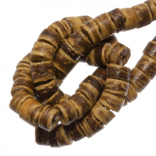 Coconut Beads (4 - 5 mm) Tiger (120 pcs)