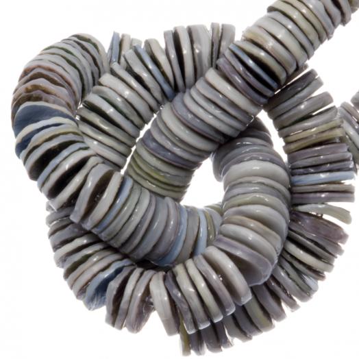 Shell Beads (4 - 5 mm) Greenshell (165 pcs)