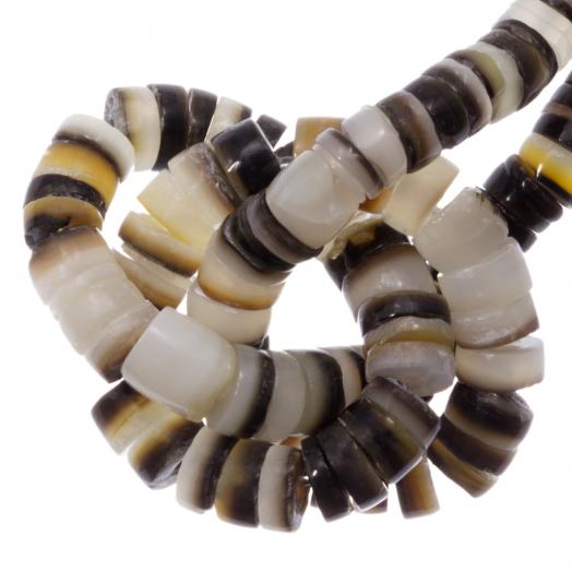 Shell Beads (2 - 3 mm) Black Lip Shell (150 pcs)