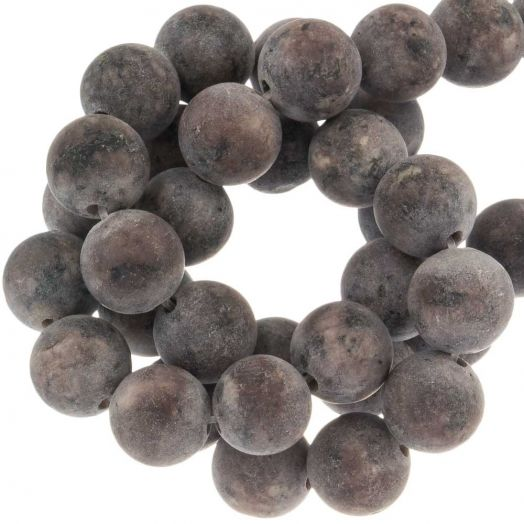 Labradorite Beads (8 mm) Brown (50 pcs)