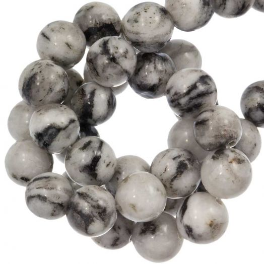 Labradorite Beads (8 mm) White (46 pcs)