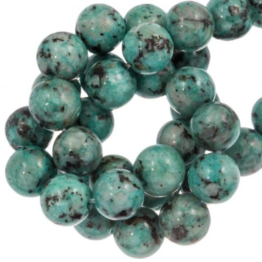 Labradorite Beads (8 mm) Teal (46 pcs)