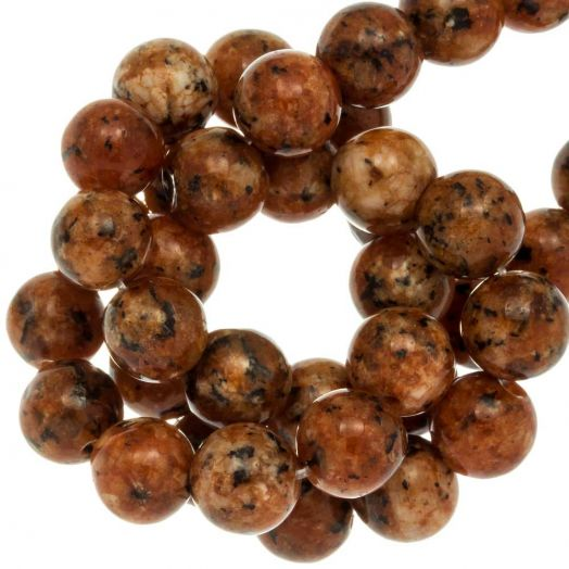 Labradorite Beads (8 mm) Sienna (46 pcs)