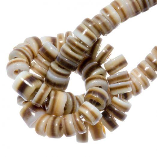 Shell Beads (2 - 3 mm) Voluta Shell (150 pcs)