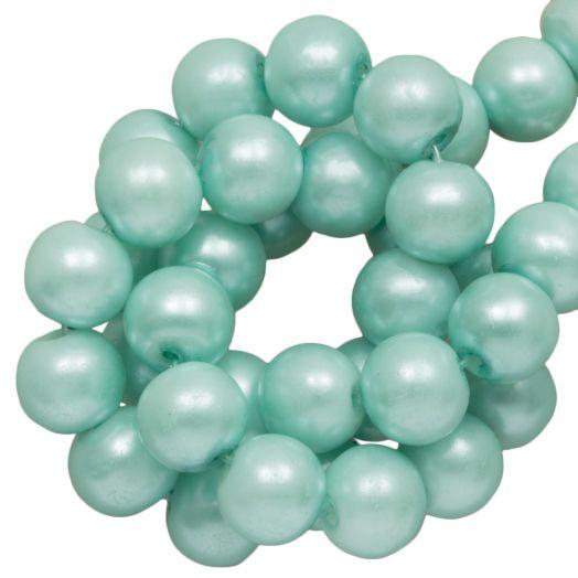 Glass Pearls (8 mm) Mint (100 pcs)