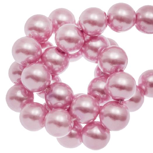 Glass Pearls (10 mm) Pink Blush (88 pcs)