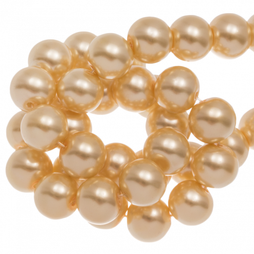 Glass Pearls (6 mm) Sunshine Yellow (160 pcs)