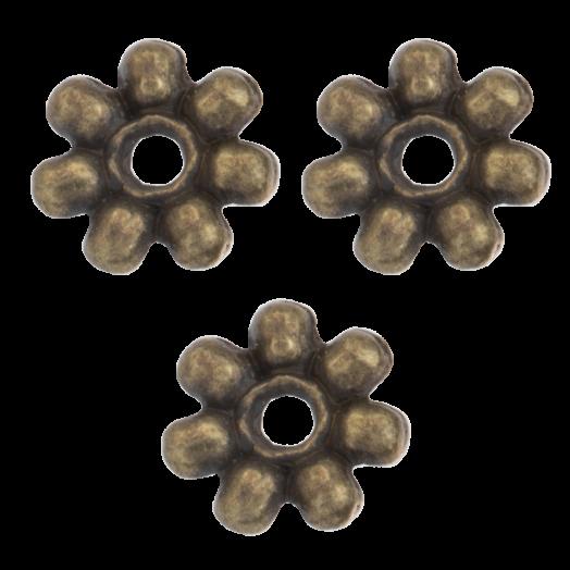 Metal Beads (8 mm) Bronze (40 pcs)