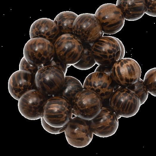 Wooden Beads Natural Look (10 mm) Patikan (41 pcs)