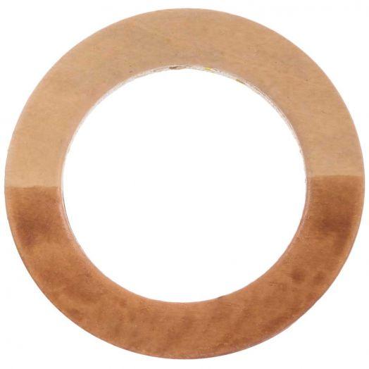 Wooden Pendants Circle (50 mm) 5 pcs