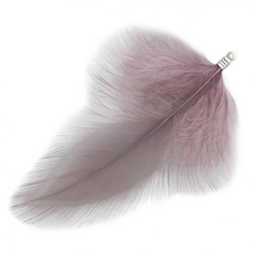 Feathers (7 cm) Mountbatten Pink (10 pcs)