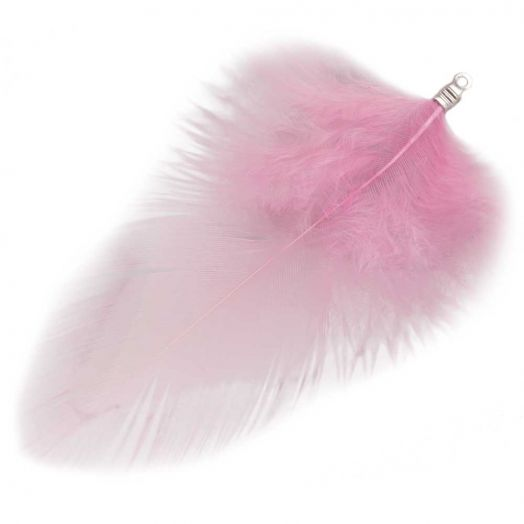 Feathers (7 cm) Party Pink (10 pcs)