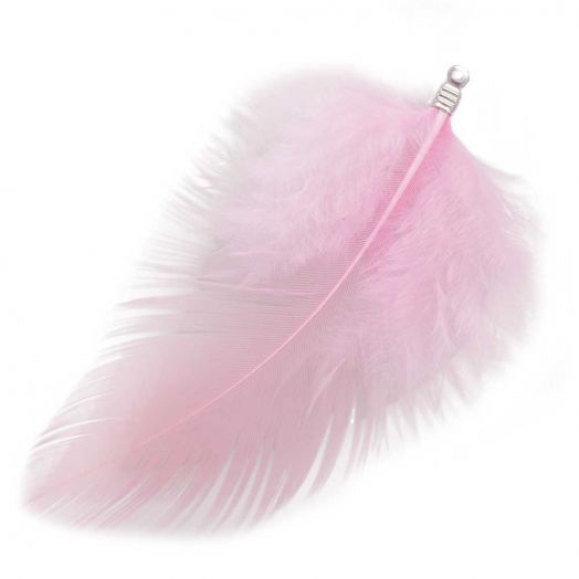 Feathers (7 cm) Blush (10 pcs)