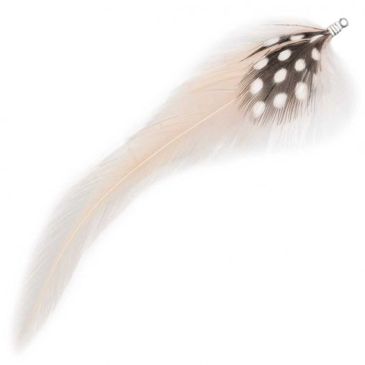 Feathers (10 cm) Dots Nude (10 pcs)