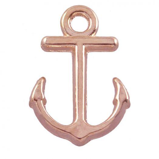 Charm Anchor (12 x 10 mm) Gold (25 pcs)