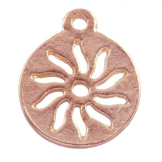 Charm Sun (12 mm) Rose Gold (25 pcs)