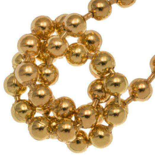ball chain gold