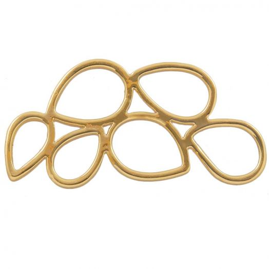 Connectors (26 x 13 mm) Gold (4 pcs)