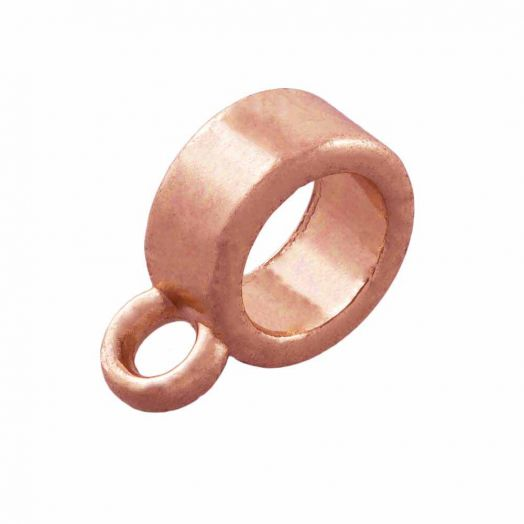 Connector (hole size 5 mm) Rose Gold (10 pcs)