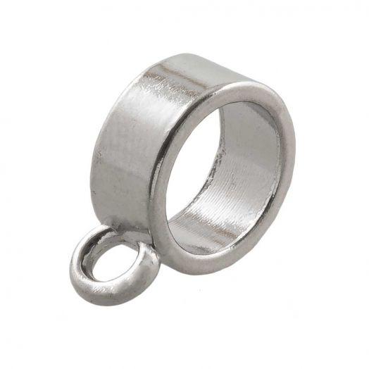 Connector (hole size 7 mm) Antique Silver (10 pcs)