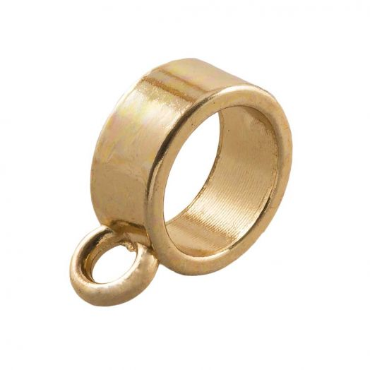 Connector (hole size 7 mm) Gold (10 pcs)