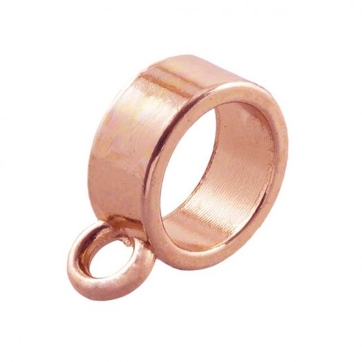 Connector (hole size 7 mm) Rose Gold (10 pcs)