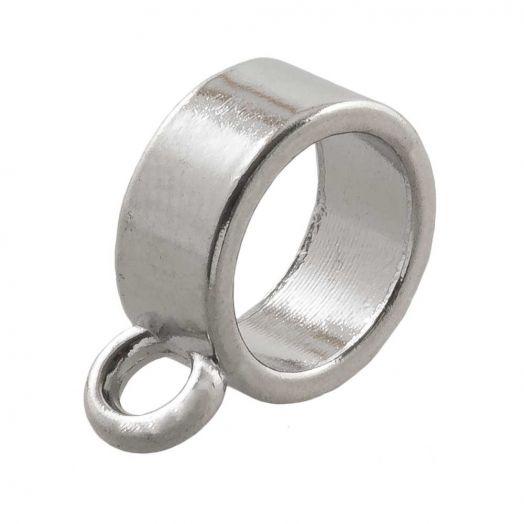Connector (hole size 8 mm) Antique Silver (10 pcs)
