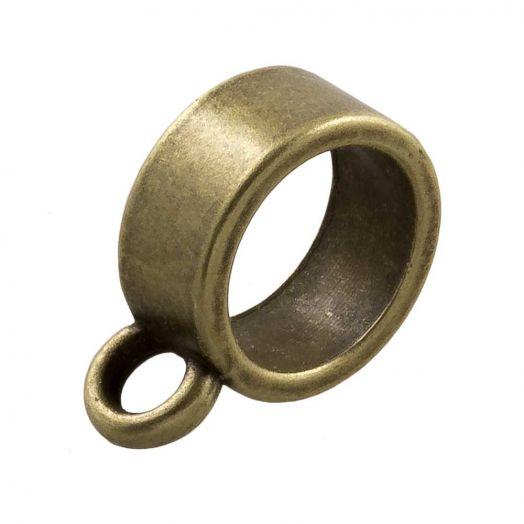Connector (hole size 8 mm) Bronze (10 pcs)